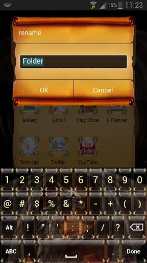 玩免費個人化APP|下載Dragon Smart Keyboard Skin app不用錢|硬是要APP