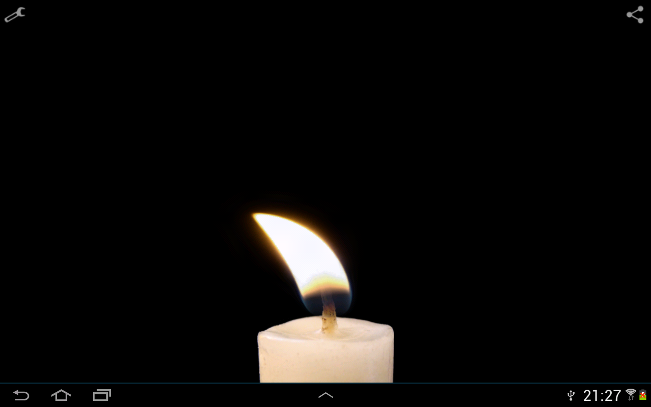 Candle - screenshot