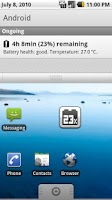 Screenshot of Batteryminder