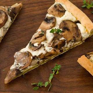 Gluten Free Easy Mushroom Tart