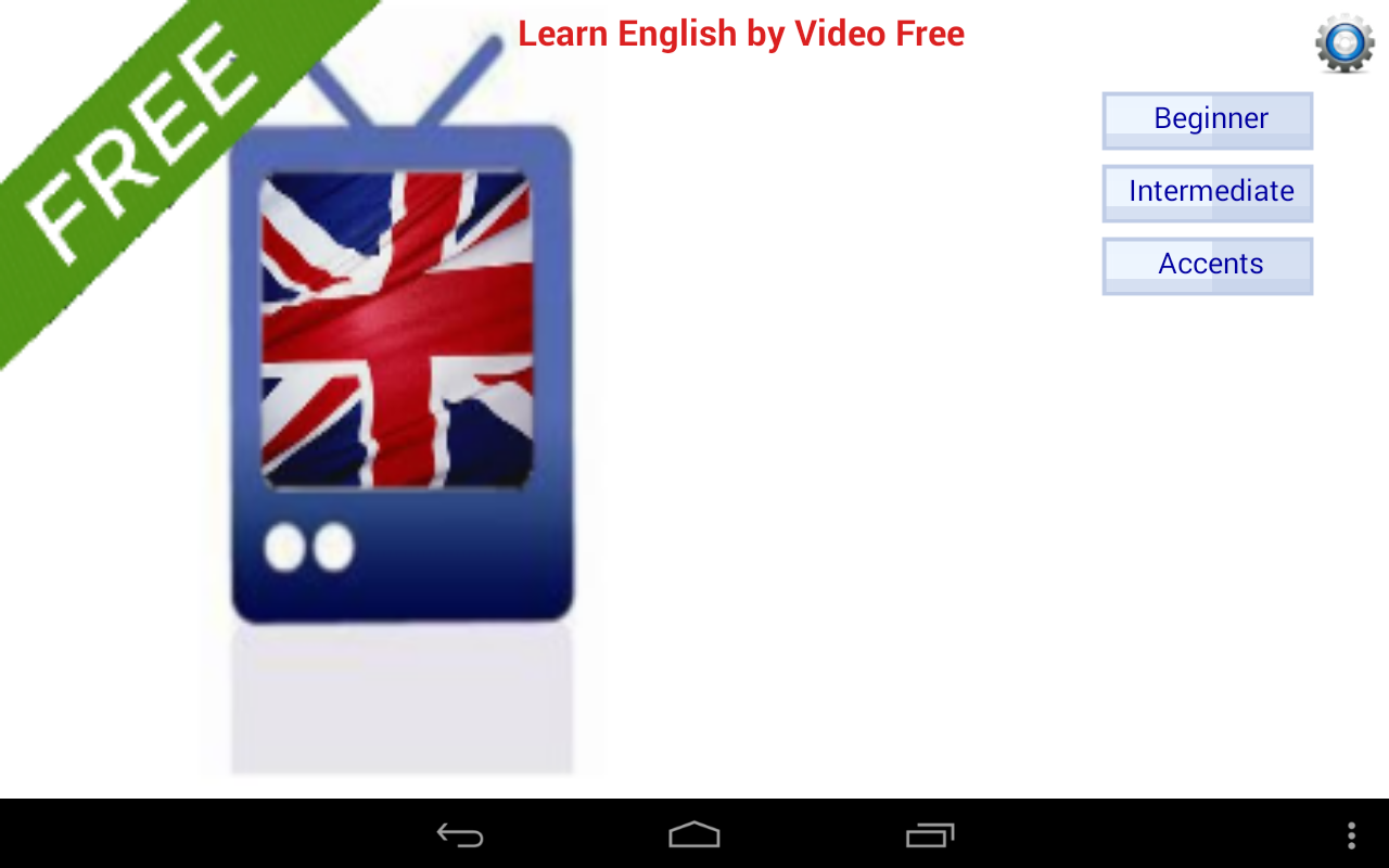 Learn English by Video Free- screenshot