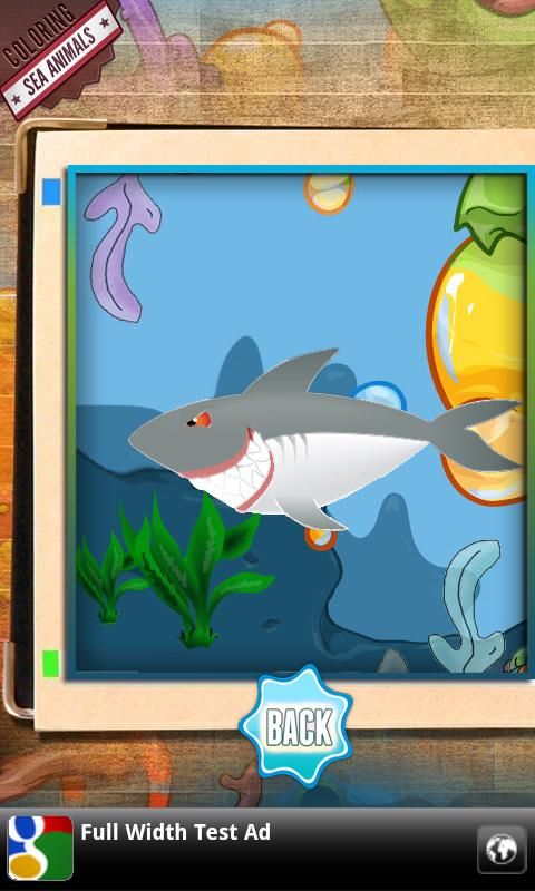 Ocean Coloring Book for Kids - screenshot