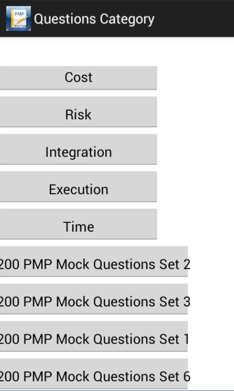 PMP Exam Prep 1600 Questions- screenshot