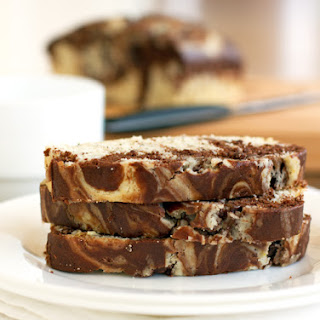 Chocolate Sweet Cream Marble Loaf.
