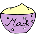 Homemade facial masks icon