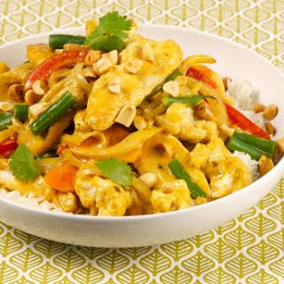 Peanut, Chicken and Cauliflower Curry Stir-Fry CBC Best Recipes Ever.