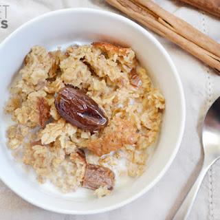 Cinnamon Date & Walnut Baked Oatmeal