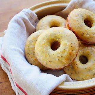 Baked Lemon-Poppy Seed Donuts