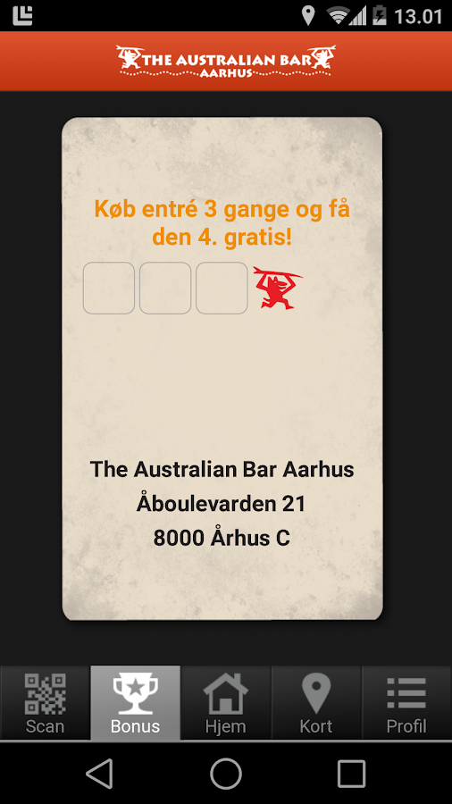 The Australian Bar Aarhus- screenshot