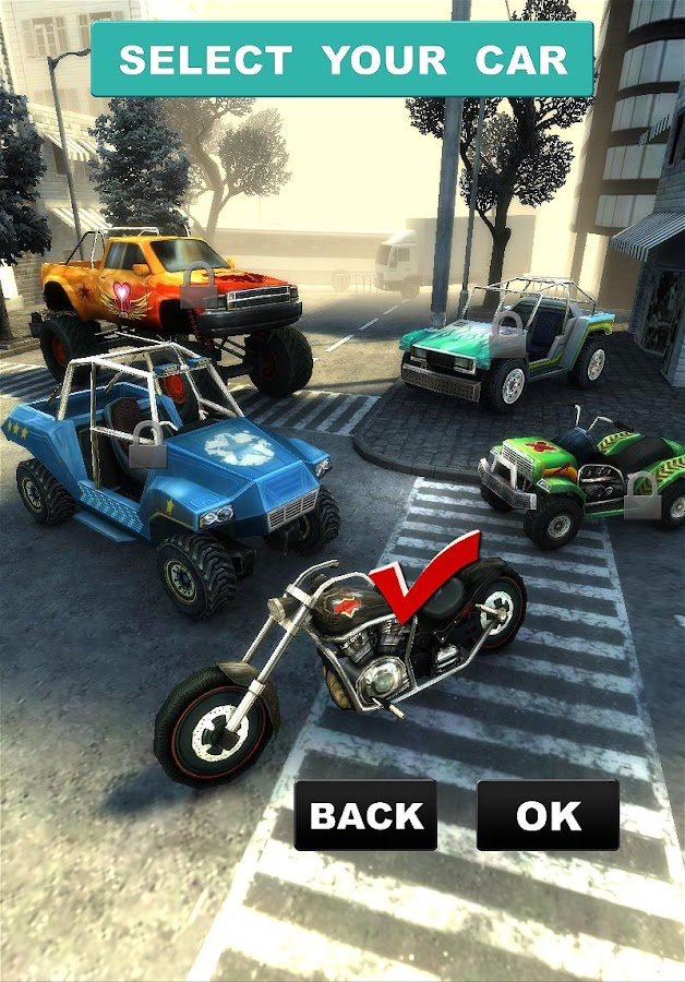 MOTO STRIKER HD - screenshot