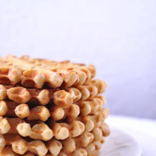 Vegan Chia Waffles.