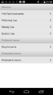 English-Slovak Dictionary Plus- screenshot thumbnail