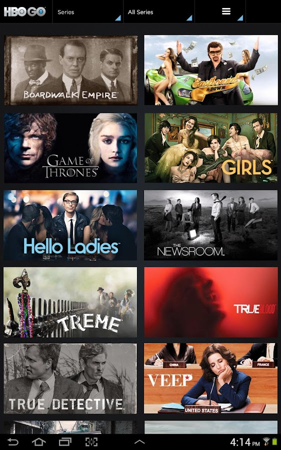 HBO GO - screenshot