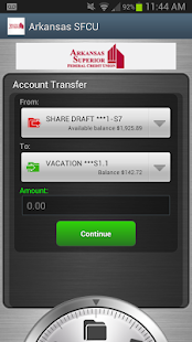 Arkansas SFCU- screenshot thumbnail