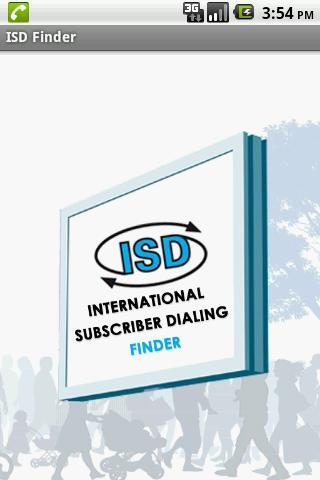 ISD Code Finder