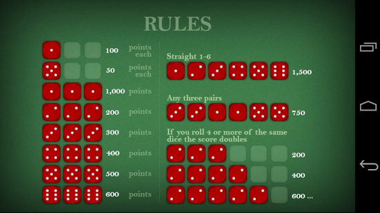 how to play 6 dice game