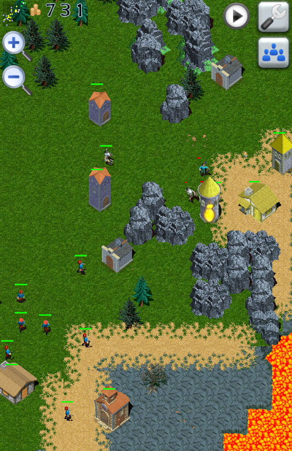 Medieval Empires RTS Strategy- screenshot