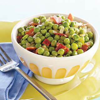 Spring Peas with Pancetta