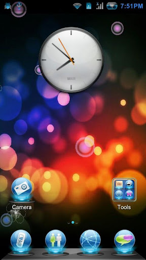 【免費個人化App】Light Abstract Live Wallpaper-APP點子