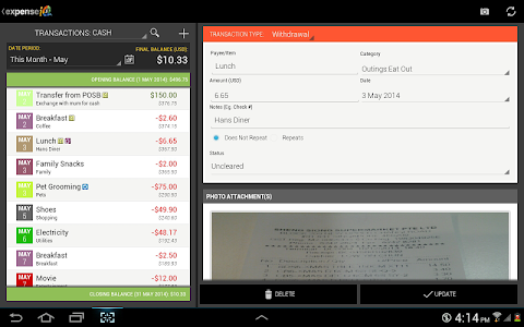Expense IQ - Expense Manager v1.0.8 build 39