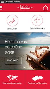 Union mobilné SMS poistenie - screenshot thumbnail