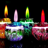 Candle Colors Wallpaper Live