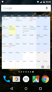 Touch Calendar Free- screenshot thumbnail