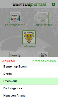 Voetbaljournaal- screenshot thumbnail