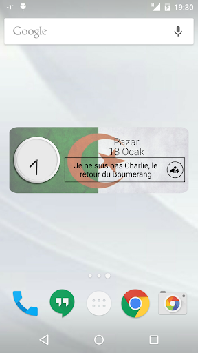 Algeria Clock RSS Widget