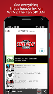 The Fan 610 AM- screenshot thumbnail