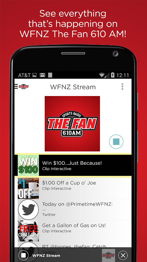 The Fan 610 AM- screenshot