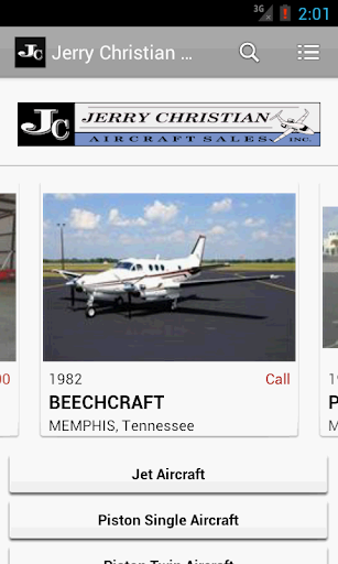 Jerry Christian Aircraft Sales
