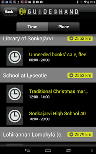 Sonkajärvi GUIDE@HAND- screenshot thumbnail