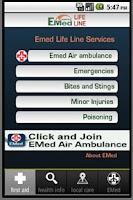 Screenshot of EMED JAMAICA LIFE LINE