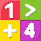 Math learn to add and subtract icon