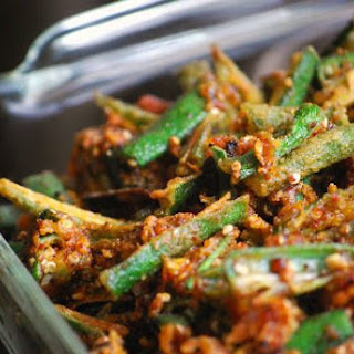 Kurkuri Bhindi (Crispy Okra)