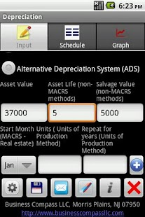 Depreciation Calculator Pro- screenshot thumbnail