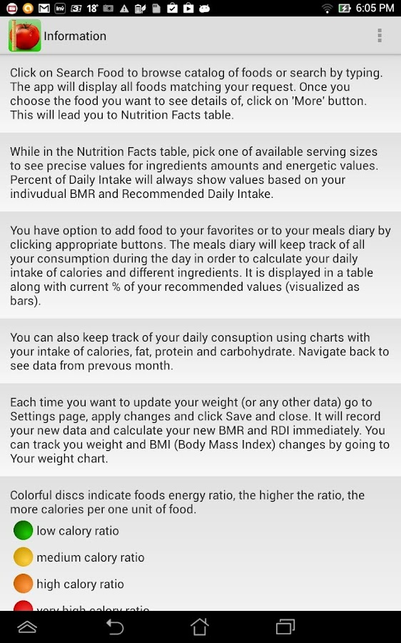 Food Calorie Counter  Android Apps On Google Play