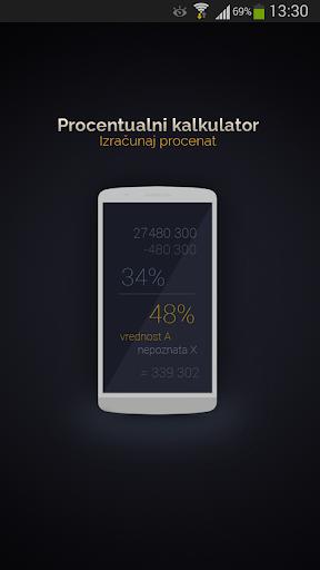Procentualni kalkulator