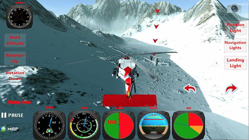 X Helicopter Flight 3D Free