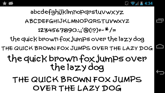 Fonts-for-FlipFont-50-Written 5