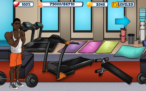 Bodybuilding & Fitness game - Iron Muscle 2- screenshot thumbnail