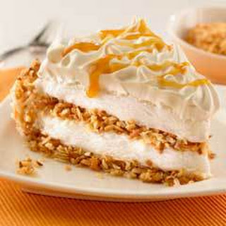 Toasted Coconut Caramel Ice Cream Pie.