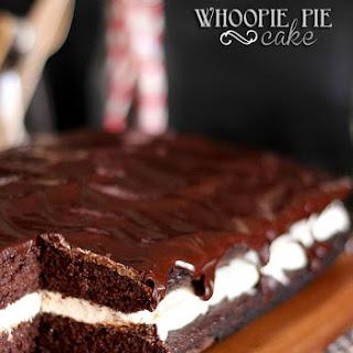 Whoopie Pie Cake.