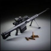 Gun Shoot Sniper Barrett .50