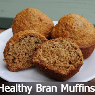 Healthy Bran Muffins.