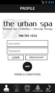 The Urban Spa - screenshot thumbnail