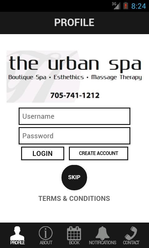 The Urban Spa - screenshot