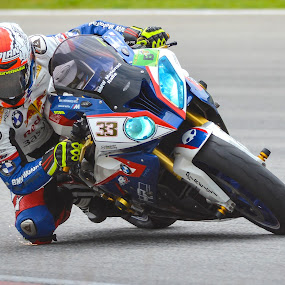 Superbike Rider by Zam Foto - Sports & Fitness Motorsports ( rider, wheel, speed, racing, superbike, moto, motorcycle, circuit, motorsport, fast, motobike, race,  )