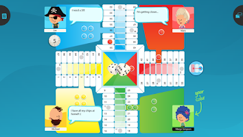 Screenshot of Parchis Stars